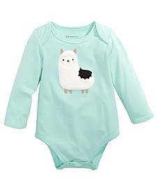 Baby Boys Llama Bodysuit, Created For Macy's