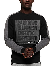 Men's Gym Tech Colorblock Sweatshirt