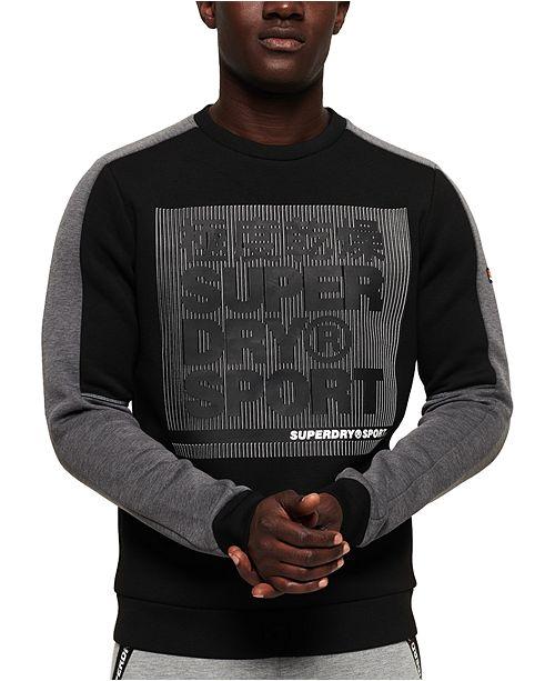 Superdry Men's Gym Tech Colorblock Sweatshirt