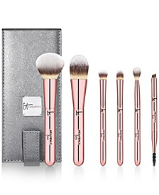 7-Pc. Heavenly Luxe On The Go! Full Size Brush Set, Created For Macy's