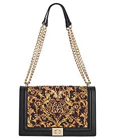 I.N.C Ajae Flap Quilted Crossbody, Created For Macy's