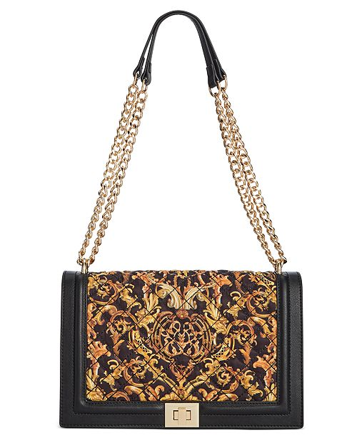INC International Concepts I.N.C Ajae Flap Quilted Crossbody, Created For Macy's