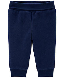 Carter's Baby Boys Navy Blue Fleece Pants