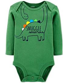 Baby Boys Dinosaur Snuggle Collectible Bodysuit