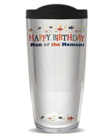 Sign-It Birthday Men Double Wall Insulated Tumbler, 16 oz
