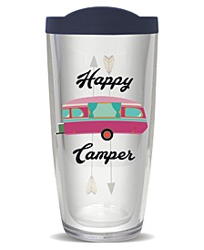Happy Camper Double Wall Insulated Tumbler, 16 oz