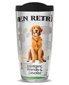 Golden Retriever Double Wall Insulated Tumbler, 16 oz