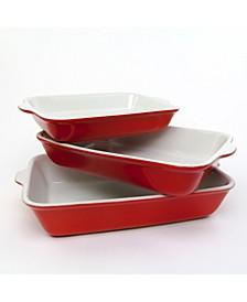 3-Piece Baking Dish Set
