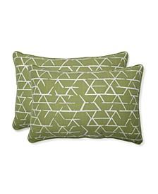 Fortress Kengo Artichoke Oversized Rectangular Throw Pillow Set of 2