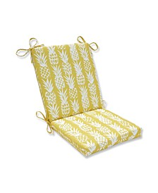 Pineapple Squared Corners Chair Cushion