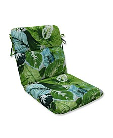Lush Leaf Jungle Rounded Corners Chair Cushion