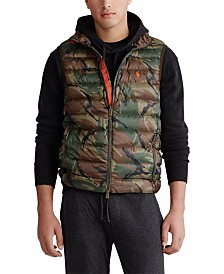 Polo Ralph Lauren Men's Camo Packable Down Vest