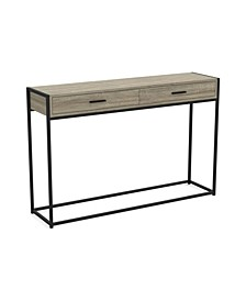 Safdie & Co. Console Metal Table
