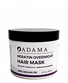 Adama Minerals Keratin Hair Mask, Lavender with Argan Oil