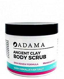 Body Scrub with Sea Salt, Moroccan Pear, 4 oz