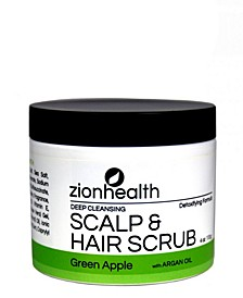 Hair Scrub, Green Apple, 4 oz
