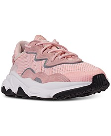 Big Girls' Ozweego Athletic Casual Sneakers from Finish Line