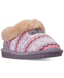 Bearpaw Little Girls' Alice Slip-On Boots from Finish Line
