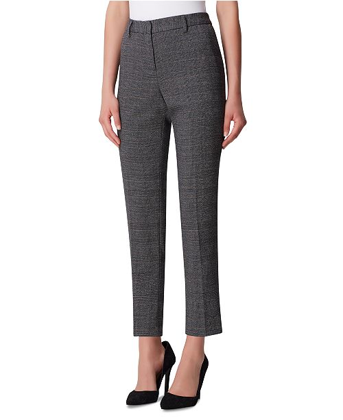 Tahari ASL Plaid Career Pants