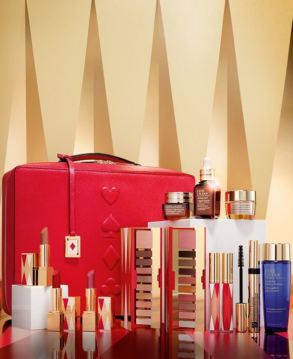 Estee Lauder Limited Edition. Estée Lauder 31 Beauty Essentials for the Price of One - Only $70 with any $45 Estée Lauder purchase. A $455 Value!