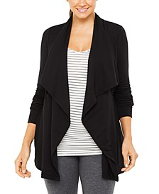 Maternity Draped Cardigan
