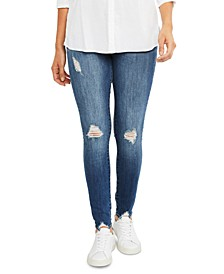 Artticles of Society Maternity Distressed Skinny Jeans
