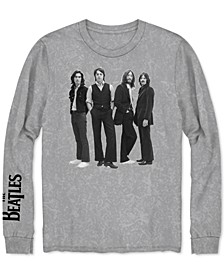 Long-Sleeve Beatles Men's Graphic T-Shirt