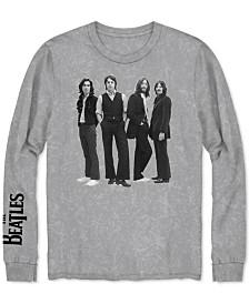 Long-Sleeve Beatles Men's Graphic T-Shirt