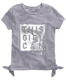 DKNY Big Girls This Girl Can T-Shirt