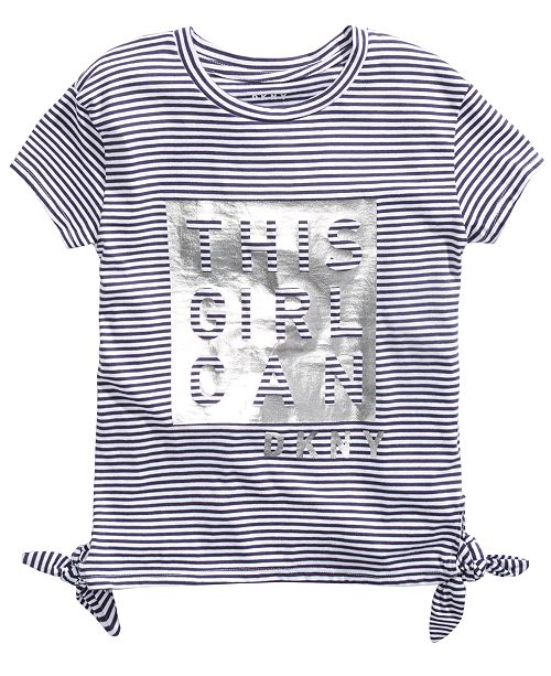 DKNY Big Girls This Girl Can T-Shirt