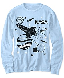 Little Boys NASA Sketch Space T-Shirt