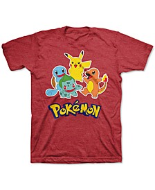 Pokémon Little Boys Charged Up T-Shirt