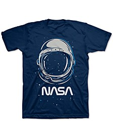 Big Boys NASA Helmet T-Shirt