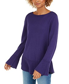 Ruffle Hem Knit Sweater, Created for Macy's