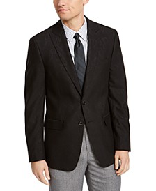 Men's Slim-Fit Jacquard Sport Coat