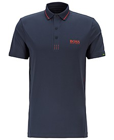 BOSS Men's Paule MK Martin Kaymer Slim-Fit Polo Shirt