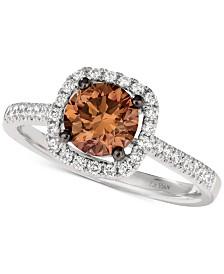 Le Vian Chocolatier® Diamond Statement Ring (1-1/4 ct. t.w.) in 14k White Gold