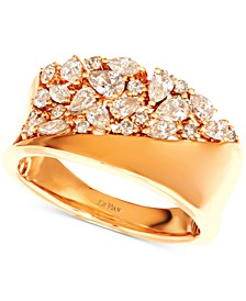 Nude Diamond™ Band Ring (7/8 ct. t.w.) in 14k Gold