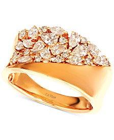 Le Vian® Nude Diamond™ Band Ring (7/8 ct. t.w.) in 14k Gold