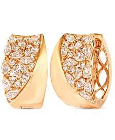 Nude Diamonds™ Hoop Earrings (1-5/8 ct. t.w.) in 14k Gold