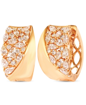 Nude Diamonds Hoop Earrings (1-5/8 ct. t.w.) in 14k Gold