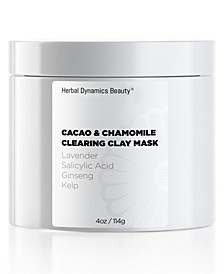 Cacao and Chamomile Clearing Clay Mask