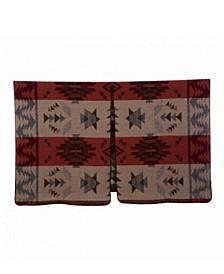 Wrap with Geometric Pattern