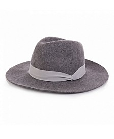 Wool Fedora Ribbon Hat