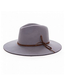 Lady's Panama Hat with Bow Detail