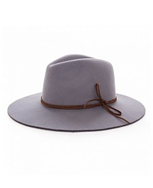 Glitzhome Lady's Panama Hat with Bow Detail
