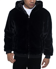Sean John Men's Faux Fur Jacket