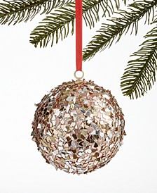 Fashion Week Rose Gold Sequin Ornament, Created for Macy's