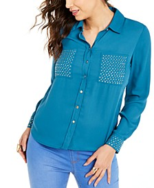 Studded Shirt, Created For Macy's