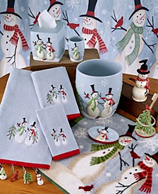 Tall Snowman Bath Collection